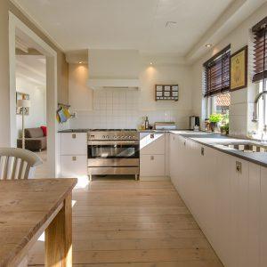 drewnopodobne płytki w Twojej kuchni
