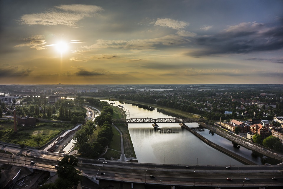 wrocław - widok na miasto