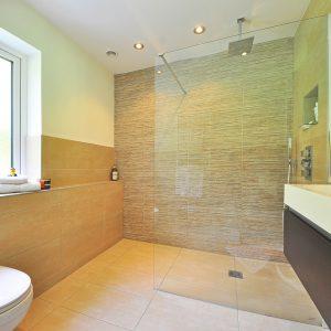 cudowna łazienka z płytkami