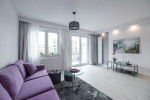 wnętrze małego mieszkania